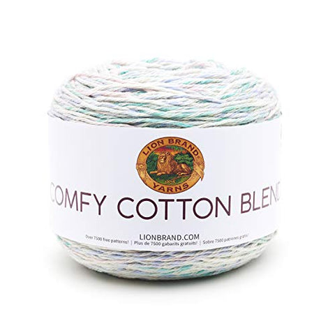 Lion Brand Yarn Comfy Cotton Blend Yarn