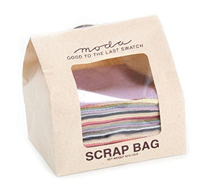 Moda 1/2 Pound Wool Scrap Bag Multi Color Rectangles