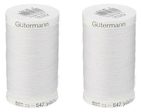 Image of Gutermann White Thread