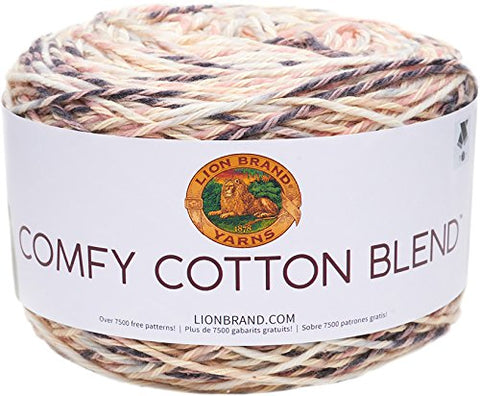 Image of Lion Brand Yarn Comfy Cotton Blend Yarn