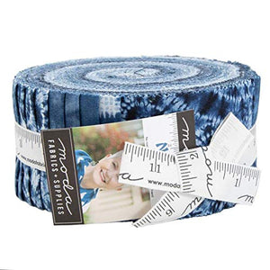 Debbie Maddy Nuno Jelly Roll 40 2.5-inch Strips Moda Fabrics 48040JR
