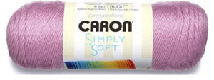 Caron Simply Soft Yarn 6 oz Med (4) Weight (3-Pack) BlackBerry
