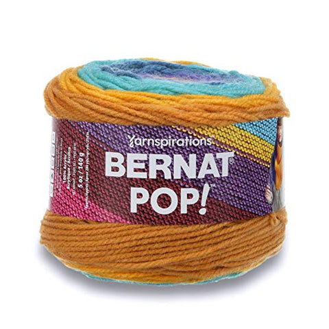 Bernat POP!, 5oz, Guage 4 Medium, 100% Acrylic, Full Spectrum