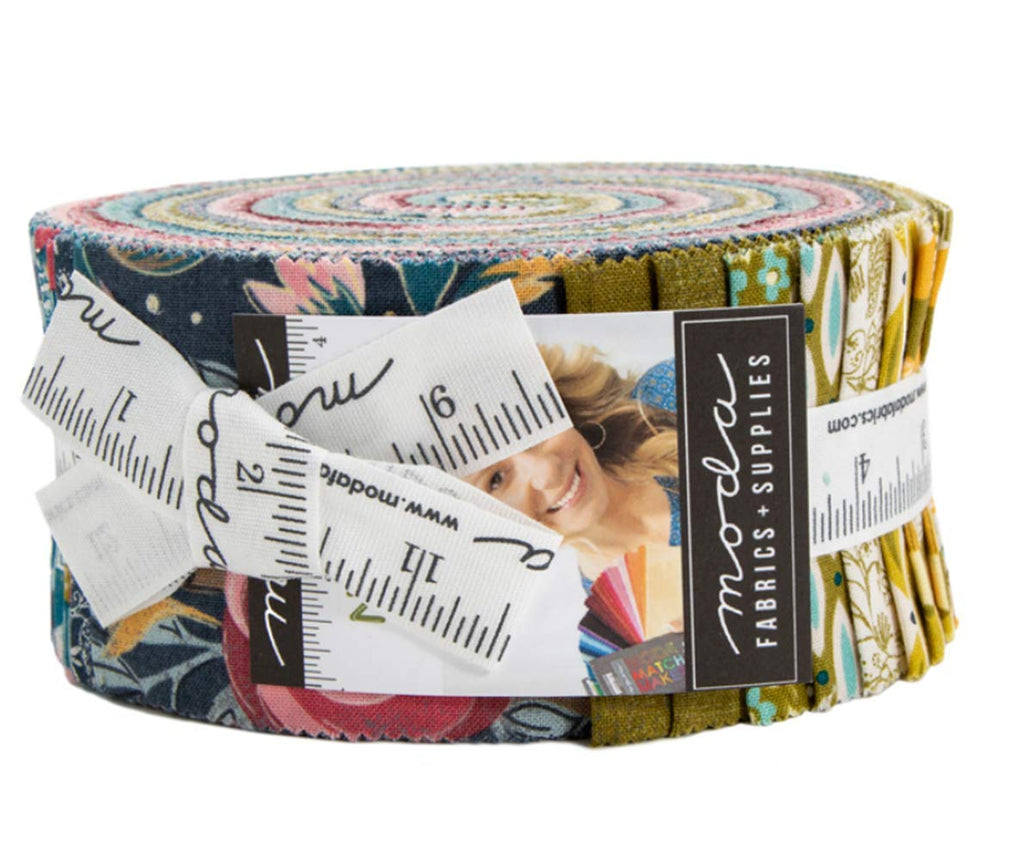 Nova Jelly Roll 40 2.5-inch Strips by BasicGrey for Moda Fabrics