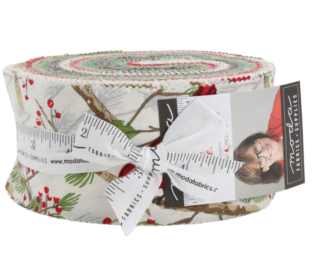 Splendid Jelly Roll 40 2.5-inch Strips by Robin Pickens for Moda Fabrics