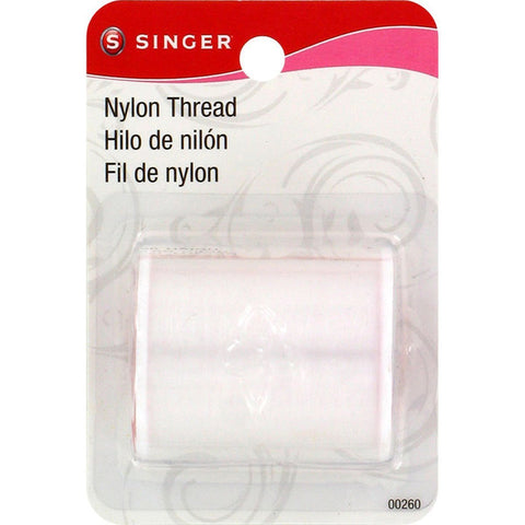 Singer Clear Invisible Nylon Thread, 135-Yard