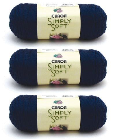 Caron Bulk Buy Simply Soft Yarn Solids (3-Pack)