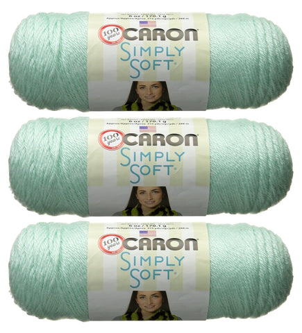 Image of Caron Bulk Buy Simply Soft Yarn Solids (3-Pack)