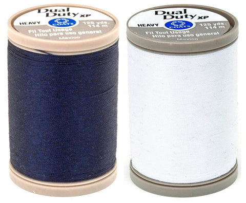 Image of 2-Pack - Coats & Clark - Dual Duty XP Heavy Weight Thread