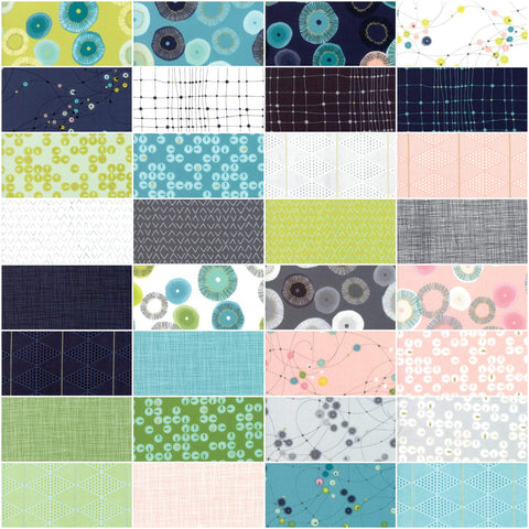Image of Zen Chic Day in Paris Jelly Roll 40 2.5-inch Strips Moda Fabrics 1680JR