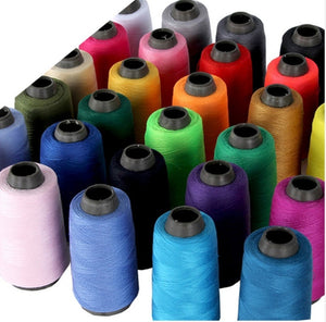 Spool Multicolor Sewing Thread 1300Y