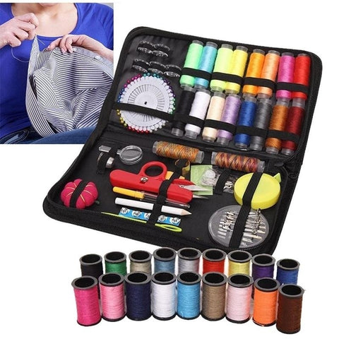 Image of Sewing Kit 138 Pieces for Premium Sewing Supplies