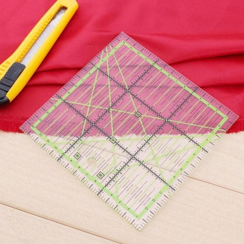Transparent Quilting Sewing Patchwork Ruler Cutting Tool Tailor Craft DIY
