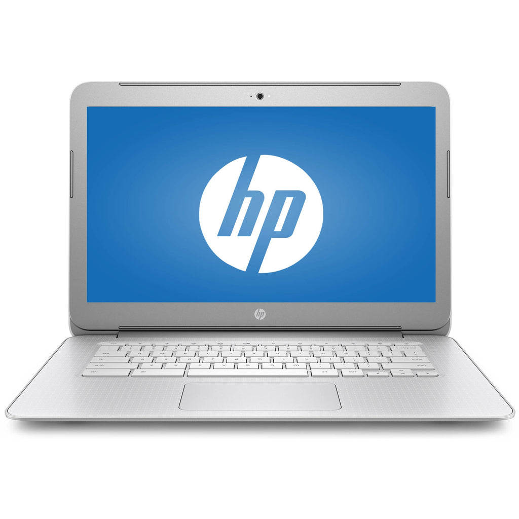 "Refurbished HP 14-ak040wm 14"" Chromebook, Chrome, Full HD IPS Display, Celeron Processor"