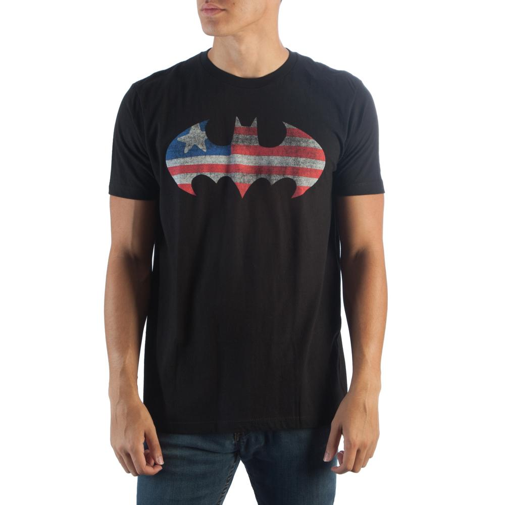 Batman Americana Logo T-Shirt - Buy4Him4Her