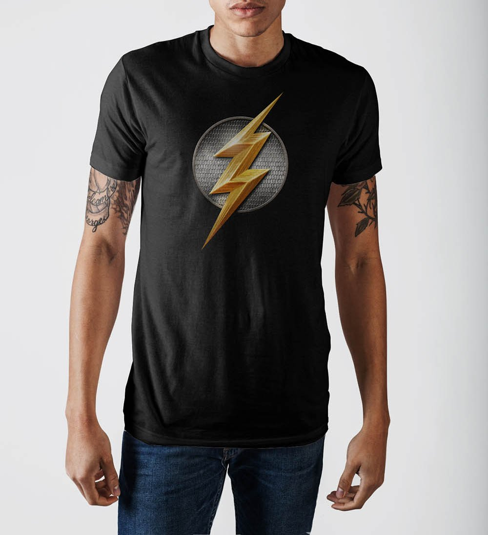 Justice League Flash Logo T-Shirt - Buy4Him4Her