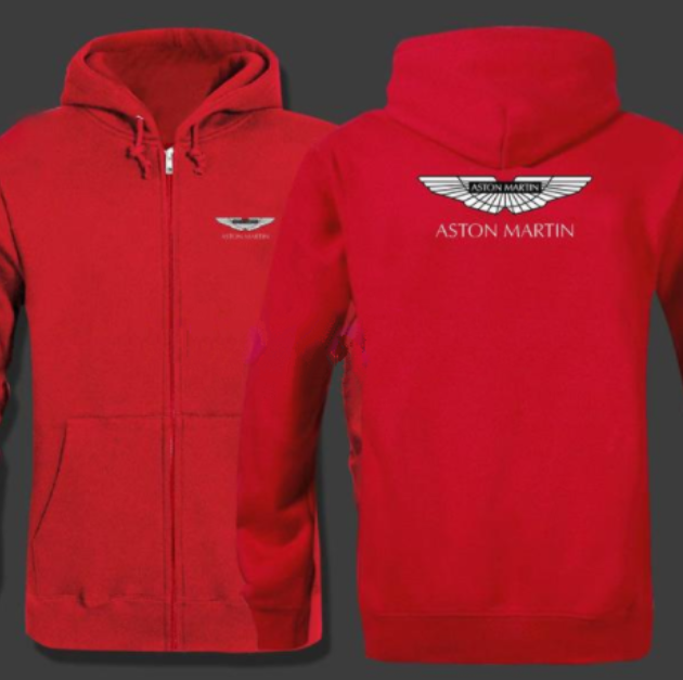 Aston Martin Cotton Fleece Hoodie Sweatshirt