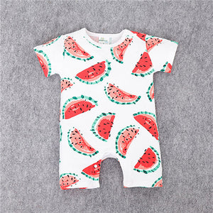 Summer Watermelon Baby Jumper, Infant Clothes - Buy4Him4Her