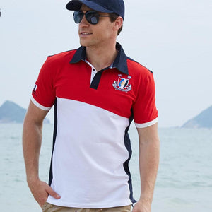 2018 Men Polo Shirt Men's Solid Polo - Buy4Him4Her