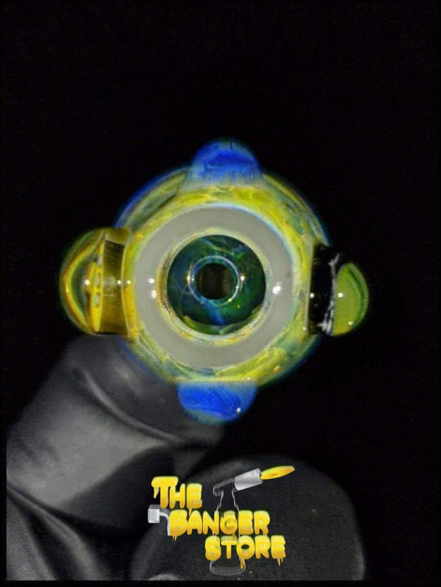 """Beatles"" Milli Flower Bowl Piece  - MessyGlass - The Banger Store"