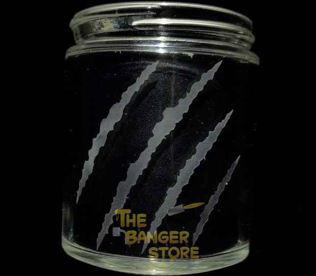 Custom Engraved Cleaning Jar - The Banger Store