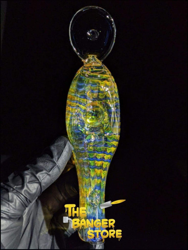Fishing Lure Glass Pipe - Fumed - The Banger Store