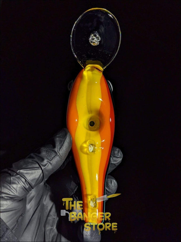 Fishing Lure Glass Pipe  - Linework Tubing - The Banger Store