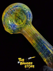Fumed Glass Wrap and Rake Pipe - The Banger Store