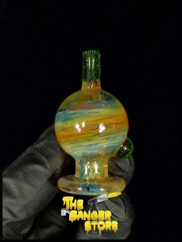 May Raffle Giveaway Prize #142 - Strawberry_Glass Fumed Bubble Cap - The Banger Store