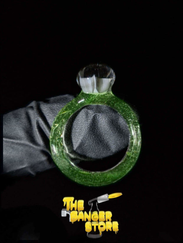 May Raffle Giveaway Prize #171 - JackGlassArt Glass Ring - The Banger Store