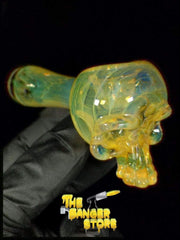 May Raffle Giveaway Prize #204 - WeilGlass Skull Pipe - The Banger Store