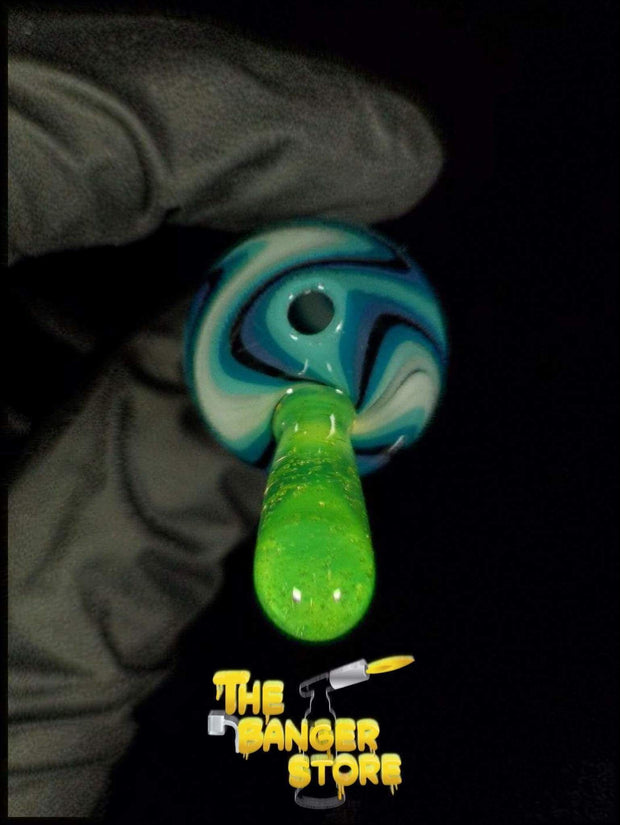 May Raffle Giveaway Prize #35 - K2GlassArt Wig Wag Bubble Cap - The Banger Store
