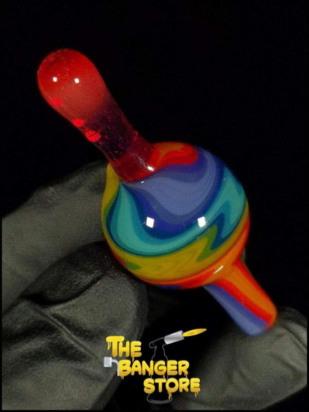 May Raffle Giveaway Prize #38 - K2GlassArt Wig Wag Bubble Cap - The Banger Store