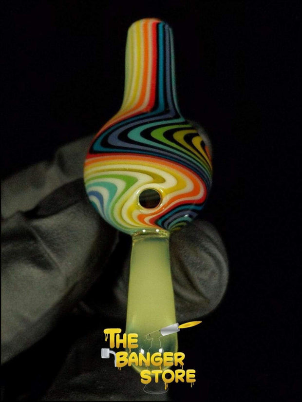 May Raffle Giveaway Prize #41 - K2GlassArt Wig Wag Bubble Cap - The Banger Store