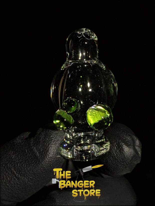 May Raffle Giveaway Prize #47 - Grand_Master_Glass Hands-Free Spinner Cap - The Banger Store