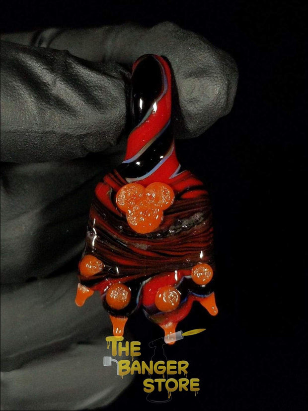 May Raffle Giveaway Prize #82 - The.Glass.Lass Paw Pendant - The Banger Store