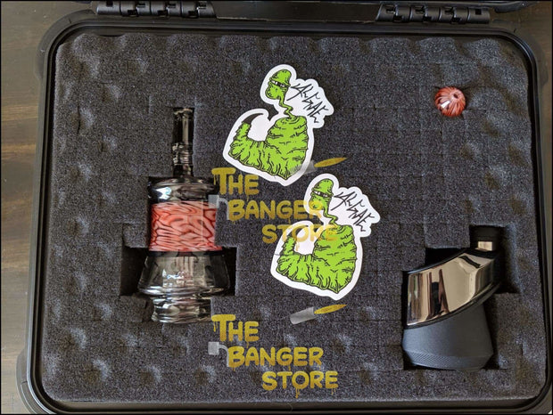 Puffco Peak Attachment - Algae Glass - The Banger Store