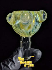 Silver Fumed Bowl Piece  - Crondo619 - The Banger Store