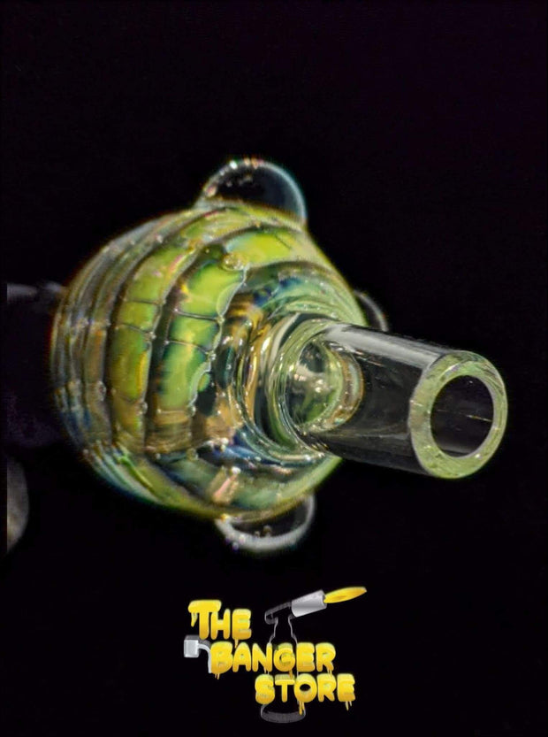 Silver Fumed Wrap and Rake Bowl Piece  - Crondo619 - The Banger Store