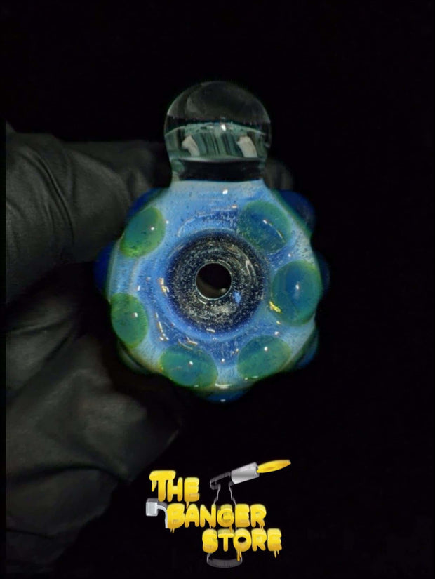 """Sully"" Flower Bowl Piece  - MessyGlass - The Banger Store"
