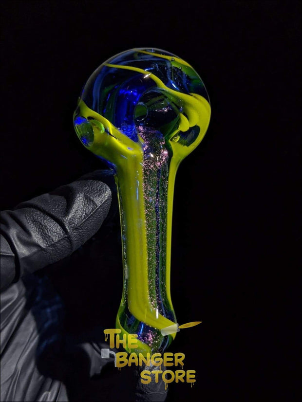 Travel Sized - Unique Dichro Glass Pipe - The Banger Store