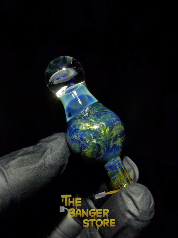 "Unique ""Alien"" Milli Bubble Cap  - MessyGlass - The Banger Store"