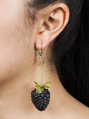 Ineke Otte Blackberry Earrings