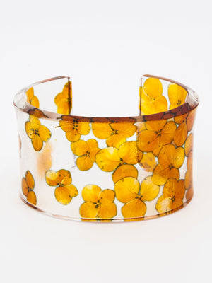 Sue Gregor Orange Hydrangea Cuff