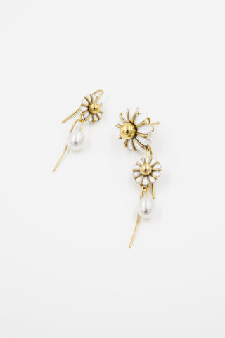 Stackable Daisy Earrings Beatriz Palacios Spain Iris Trends