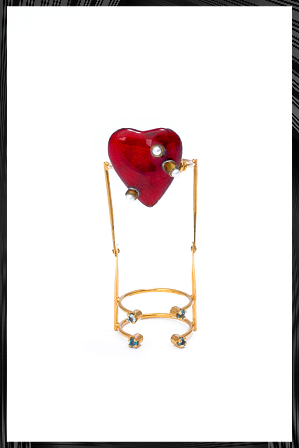 Articulated Heart Ring - Only 1 Left