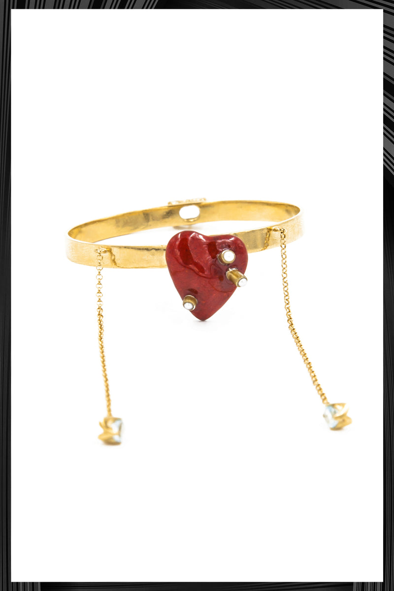 Heart Cuff | Free Delivery - Quick Shipping