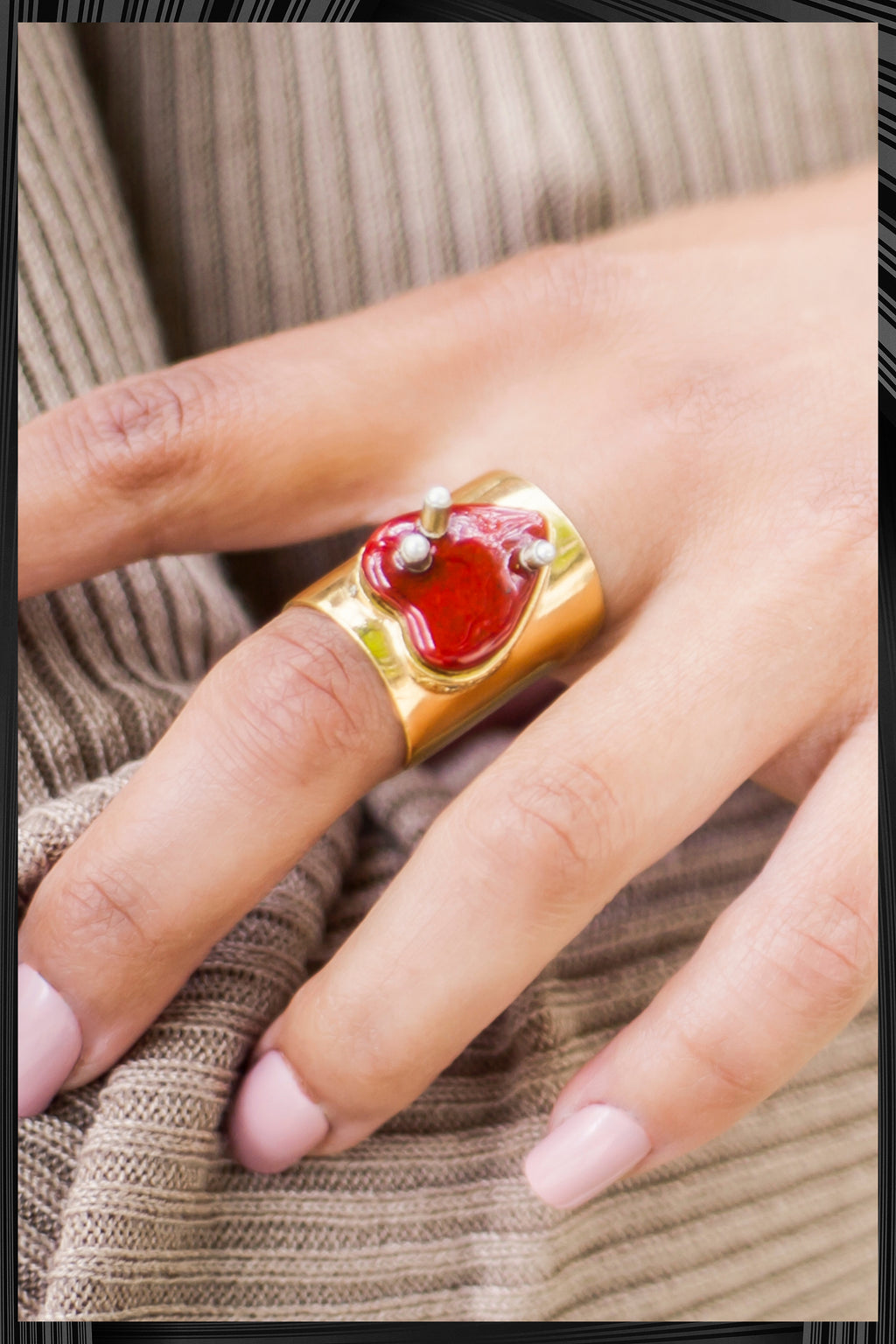 Open Heart Ring | Free Delivery - Quick Shipping