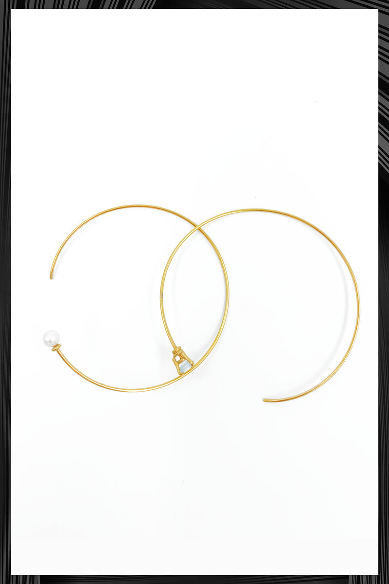 Tomorrow Hoop Earrings | Free Delivery - Quick Shipping