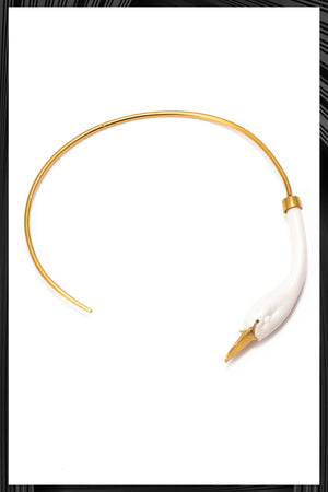 White Swan Choker - Only 1 Left!